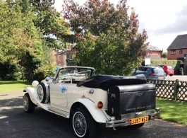 White Beauford for weddings in Chippenham